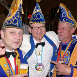 v.l.n.r Helge Falkner, Jo Schreiber und Buur Klaus I. (Lake)